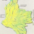 Mapa Hidrografico de Colombia