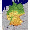 Mapa de Alemania