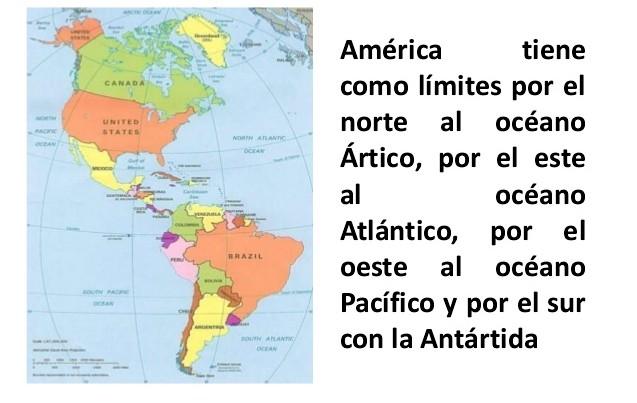 Mapa de America  Mapa Fsico Geogrfico Poltico turstico y