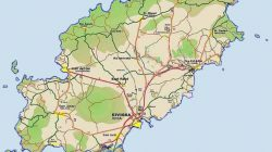 Mapa de Ibiza