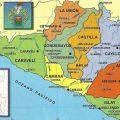 Mapa fisico de Arequipa