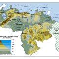 Mapa fisico de Venezuela