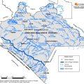 Mapa hidrográfico de Chiapas
