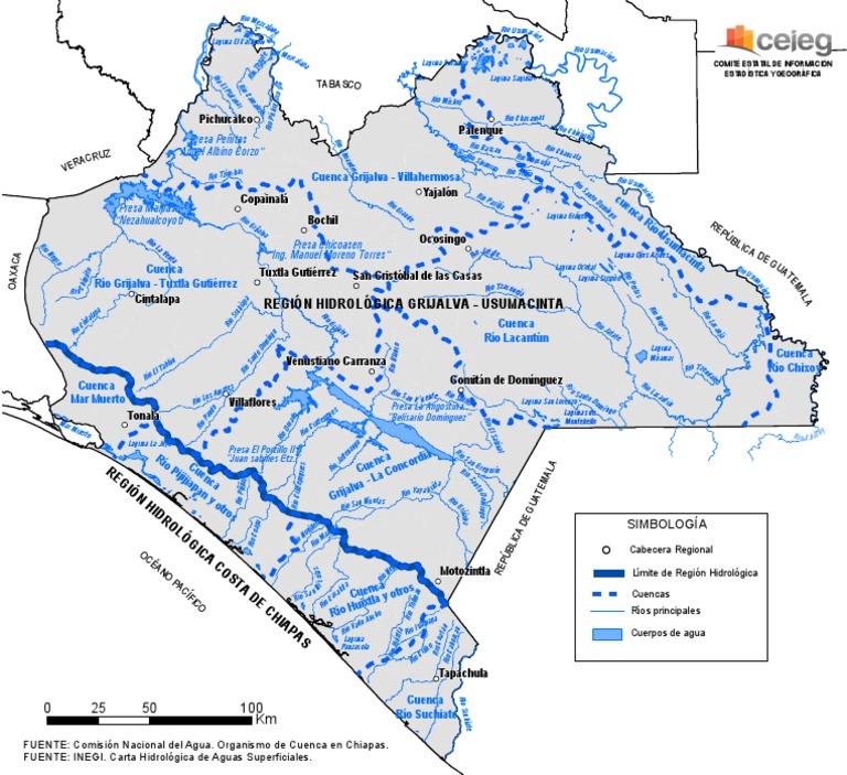 Mapa de Chiapas  Mapa Fsico Geogrfico Poltico turstico y