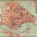 Mapa histórico de Venecia