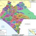 Mapa político de Chiapas