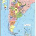 Mapa politico de Argentina politico