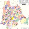 Mapa politico de Cundinamarca