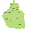 Mapa politico del DF