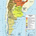 Mapa tematico de Argentina