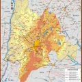 Mapa tematico de Cundinamarca