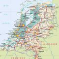 Mapa tematico de Holanda