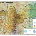 Mapa topografico de Antioquia