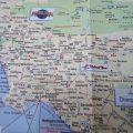 Mapa turistico de California