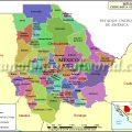 Mapas politico de Chihuahua