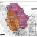 Mapas topografico de Chihuahua