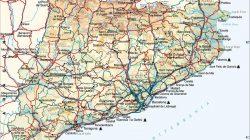 Mapa geográfico de Catalunya