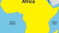 Mapa geografico y politico de Africa