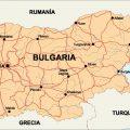 mapa de bulgaria.