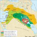 Mapa de la antigua Mesopotamia