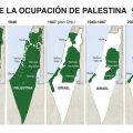 mapa de palestina