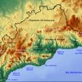 mapa fisico de malaga