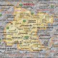 mapa geografico de Guanajuato