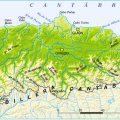 mapa geografico de asturias