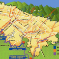 mapa geografico de bogota