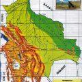 mapa geografico de bolivia