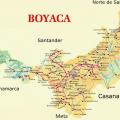 mapa geografico de boyaca