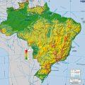 mapa geografico de brasil