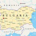 mapa geografico de bulgaria