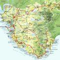 mapa geografico de cadiz