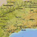 mapa geografico de malaga