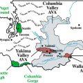 mapa geografico de washington