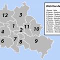 mapa politico de berlin
