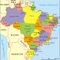 mapa politico de brasil