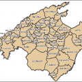 mapa politico de mallorca