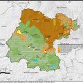 mapa tematico de Guanajuato