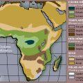 mapa tematico de africa