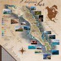 mapa tematico de baja california sur