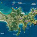 mapa tematico de buzios
