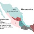 mapa tematico de mesoamerica