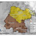 mapa topografico de Guanajuato