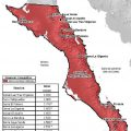 mapa topografico de baja california sur..