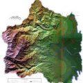 mapa topografico de cali