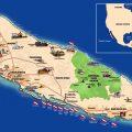 mapa turistico de aruba