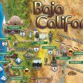 mapa turistico de baja california