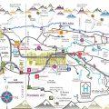 mapa turistico de bariloche